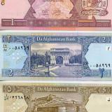 Bancnota Straine - Afganistan 1 2 5 afgani necirculate