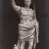 Carte postala veche Muzeu Vatican Statuia Cesare gm 115 redus