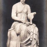 Carte postala veche Muzeu Vatican Statuia Clio gm 110 redus