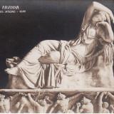 Carte postala veche Muzeu Vatican Statuia Arianna gm 107 redus