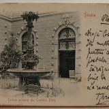 Sinaia - Terasa persana din Castelul Peles 1903