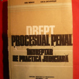 Carte Drept penal - Drept Procesual Penal -Indreptar Practica Juridica 1982