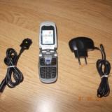 Telefon Samsung, Argintiu, Vodafone, Cu clapeta, 176x220 pixeli, 256K - SAMSUNG Z140v
