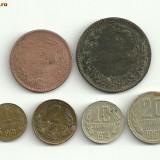 20 stotinki 1962 10 stotinki 1974 2 stotinki 1962 1 stotinki 1974 Bulgaria - Moneda Romania