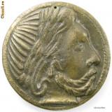Moneda Antica - Moneda/medalie dacica Banat - pentru decor