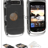 Blackberry Torch 9800 husa transparenta silicon rigid - Husa Telefon
