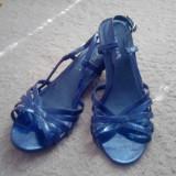 Sandale dama, Marime: 36, Albastru - Sandale albastre navy