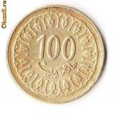 TUNISIA 100 MILIMS 1997