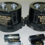 Amplificator audio - Condensatoare ELNA, NICHICON, Mundorf audio HI-FI, diverse
