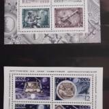 Timbre Romania - Timbre Straine nestampilate, 2 blocuri nestampilate Rusia URSS - Cosmos 1971