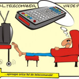 Telecomanda ITT SAT 1700 EN/MK 2