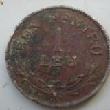 Moneda 1 leu - 1924 - Moneda Romania
