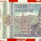 5000 lei 1992 seria A002