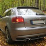 Spoiler, Audi, A3 Sportback (8PA) - [2004 - 2013] - Vand prelungire bara spate Audi A3 8P SPORTBACK S3