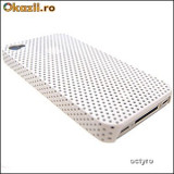 CARCASA iPHONE 4S - MESH CASE - HUSA iPHONE 4 - WHITE MESH - SPECIALA iPHONE 4S
