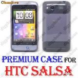 HTC Salsa C510e - HUSA HTC SALSA C510e - PROTECTIE TPU HTC SALSA C510e - GREY EDITION - Husa Telefon