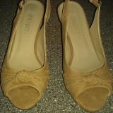 Sandale Leonardo - Sandale dama, Marime: 35.5, Coffee