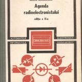 (C1191) AGENDA RADIOELECTRONISTULUI DE NICOLAE DRAGULANESCU, EDITURA TEHNICA, BUCURESTI, 1989, EDITIA A II-A