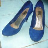 Pantofi dama, 37 1/3, Albastru - PANTOFI STRADIVARIUS
