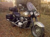 vand (sau schimb cu auto) Kawasaki Drifter (Indian) 800 cm din 2000, stare f. buna+ multe extra: atas(!),3 genti, aparatoare vant, crashbar.etc. foto