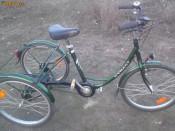 Tricicleta adulti bicicleta cu 3 trei roti foto