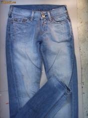 Blugi dama - Jeans blugi boyfriend Replay originali 26-27 Noi