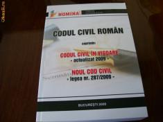 Carte Legislatie - CODUL CIVIL ROMAN