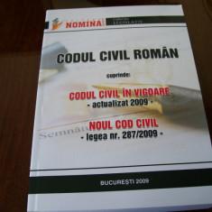 CODUL CIVIL ROMAN - Carte Legislatie