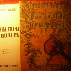 Tapiterie Goblen - ILEANA RATIU - TABLOURI IN GOBLEN