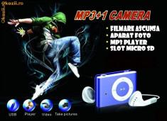 CD player - Mp3 player spy spion + memorie sd 4 GB GRATIS