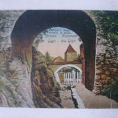 Brasov - dupa zidurile de dinjos. Graft - Die Graft, vedere / ilustrata / carte postala circulata, fara timbru