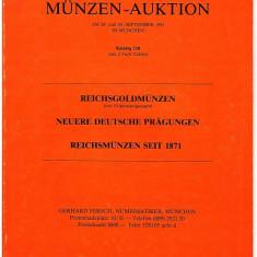 Catalog licitatie 128/1981, monede aur, Gerhard Hirsch-Munchen
