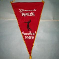 403 Fanion Bucuresti -Ploesti -Handbal -1969 - Fanion handbal