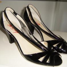 Sandale cu toc Miss Sixty - Sandale dama Miss Sixty, Marime: 39, Negru