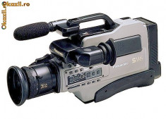 Camera Video Panasonic, sub 3 Mpx, CCD - PANASONIC AG-455 Professional S-VHS VIDEO-CAMERA