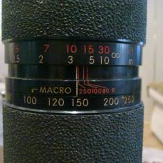 Obiectiv Tamron zoom macro 1:3, 8~4.5 / f 80~250mm - Lentile conversie foto-video