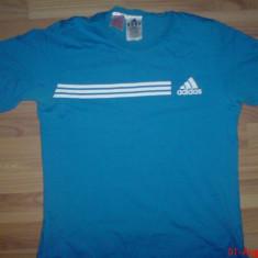 Tricou Adidas Original - Tricou barbati Adams, XL, Maneca scurta, Albastru, Bumbac