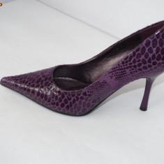 Pantofi dama, Lila - Pantofi de gala pentru femei, violet - (CHIARA 8815-8 purple ) REDUCERE EXCEPTIONALA DE PRET