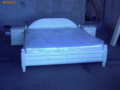 Mobila dormitor - PAT DIN LEMN MASIV