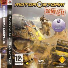 JOC PS3 MOTORSTORM COMPLETE EDITION ORIGINAL / STOC REAL / by DARK WADDER - Jocuri PS3 Sony, Curse auto-moto, 12+, Single player
