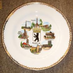 Farfurie antica / decorativa - portelan bavaria - Scherzer - 1945, Farfurii