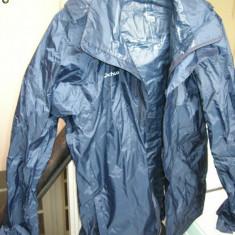 Jacheta ploaie cu gluga si fermoar, marimea M, Decathlon Creation - Imbracaminte outdoor, Marime: M