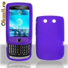 Husa mov silicon slide Blackberry Torch 9800 - Husa Telefon