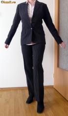 Costum dama cu pantalon, Costum cu pantaloni, Fuchsia