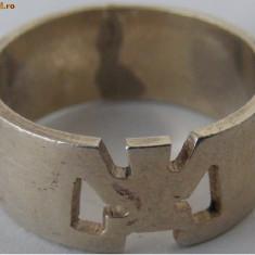 Inel vechi din argint (69) - de colectie - Inel argint