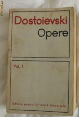 Roman - Dostoievski Opere vol I ed. pt. lit. univ. 1966