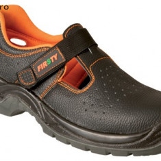 Sandale barbati - SANDALE PROTECTIE LUCRU CU BOMBEU SI LAMELA METAL IN TALPA