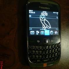 Blackberry Curve 3G 9300 (Decodat Garantie) 499 ron ULTIMUL PRET - Telefon mobil Blackberry 9300, 256 MB