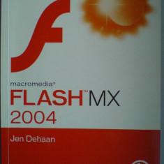 Macromedia Flash MX 2004 - Jen Dehaan - Carte webdesign