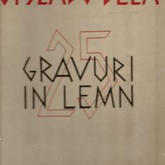 Gy. Szabo Bela - 25 gravuri in lemn - Album Arta